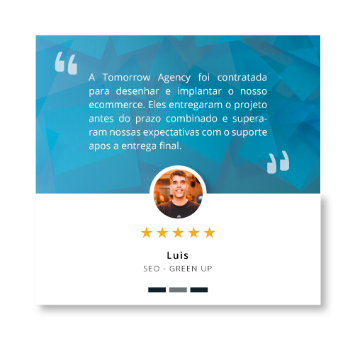 Review Tomorrow Agency - Luis - GreenUp
